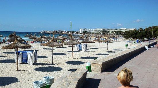 Protur Vista Badia Aparthotel: Sa Coma beach