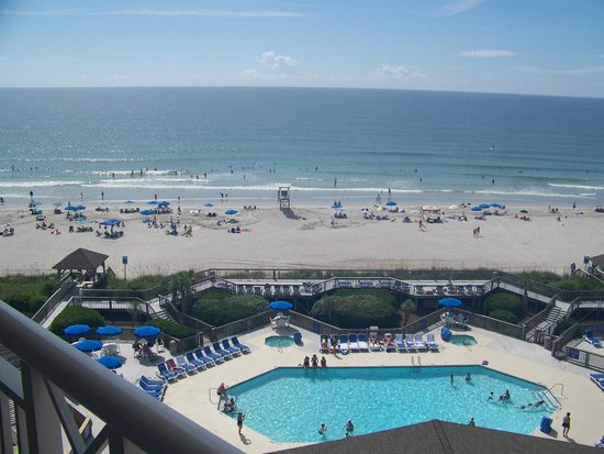 Holiday Inn Resort Wrightsville Beach A View Of The From Room