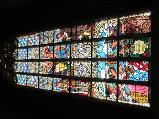 Cathedral of St. Barbara: Glasswork