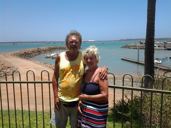 Dampier Harbour from the Yacht Club