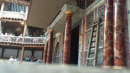 Shakespeare's Globe Theatre: the stage!