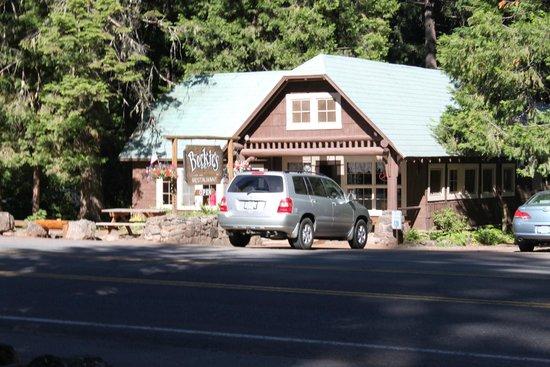 Union Creek Resort: Beckie's restaurant