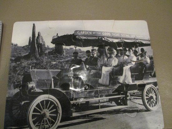Colorado Springs Pioneers Museum : Photo of the way they used to visit The Garden of the Gods Park