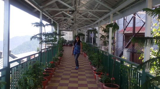 Grand View Hotel: The Corridor to Deluxe Rooms