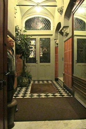 Hotel Ter Brughe: Entryway