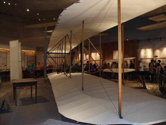 National Air and Space Museum: The original Wright Flyer
