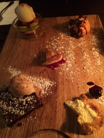 Chakra: Chef tasting dessert