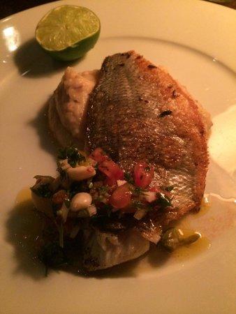 Chakra: Fish with mashed potatoes