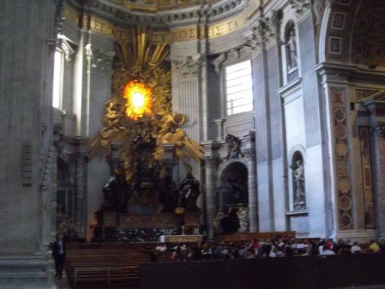 Basilique Saint-Pierre : Cathedra Petri