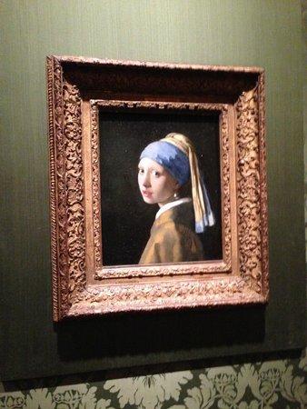 """Mauritshuis : """"La Jeune Fille à la Perle"""""""