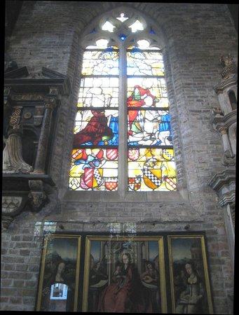 Jerusalem Church (Jeruzalemkerk): Fine stained glass
