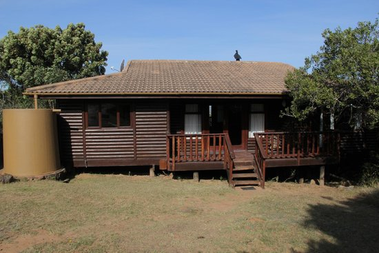Kariega Game Reserve: A View of Our Cottage