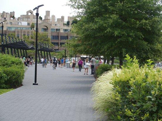 Georgetown : The riverside walk