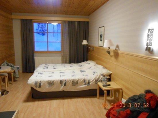 Levi Hotel Spa: Bedroom Area