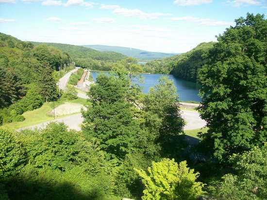Horseshoe Curve National Historic Landmark : Beatiful view from Horseshoe Curve