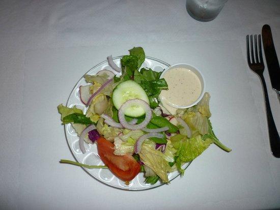 Kurtz Restaurant: Generous salad