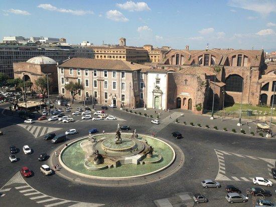 Boscolo Exedra Roma, Autograph Collection : Vue depuis le toit