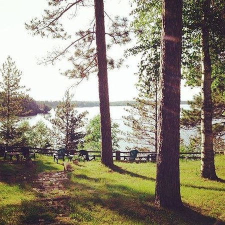 Timber Bay Lodge and Houseboats: Birch Lake from Timber Bay Lodge