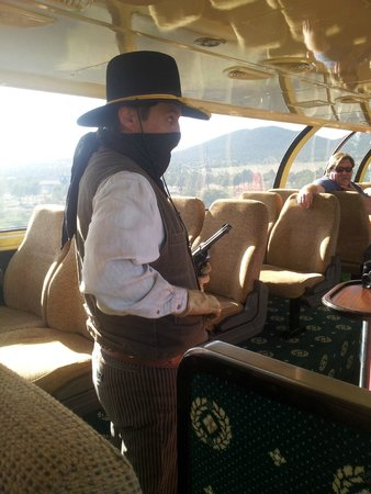 Grand Canyon Railway: Holdup!