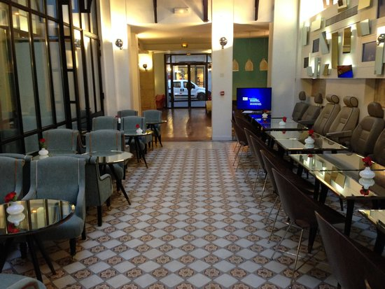 Hotel Joyce - Astotel: Lounge/breakfast area in lobby
