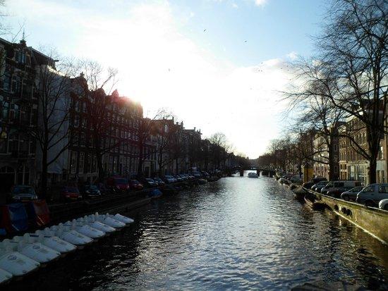 Jordaan : Canal em Amsterdã