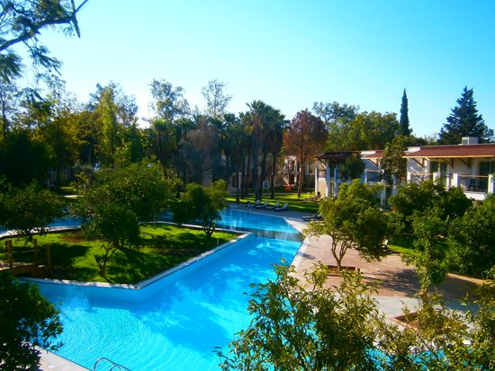 Sherwood Club Kemer: view from aour balcony