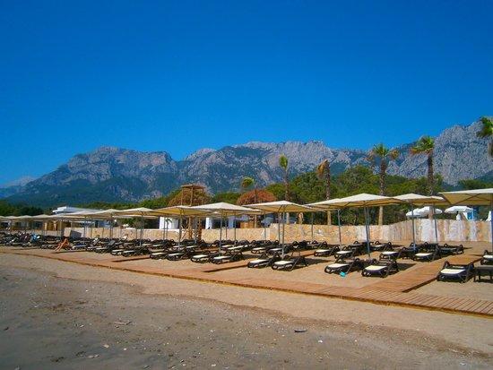 Sherwood Club Kemer: Beach