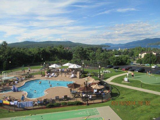 Holiday Inn Resort Lake George : view from 3rd floor suite