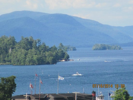 Holiday Inn Resort Lake George: view from 3rd floor suite