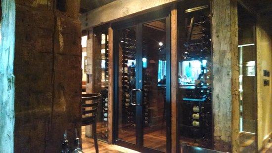 Bagalis : Wine room towards the back