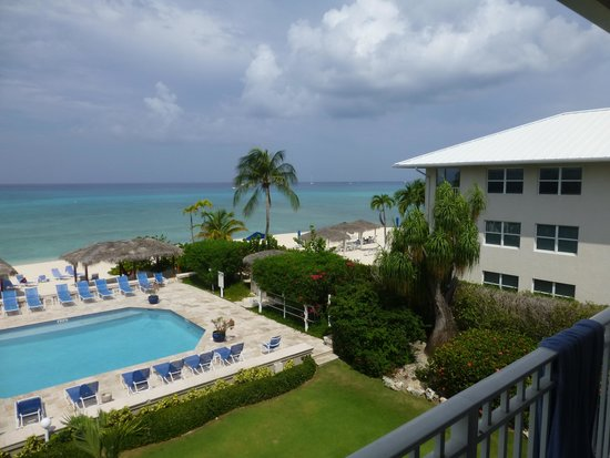 Christopher Columbus Condos : Balcony View from Unit #27