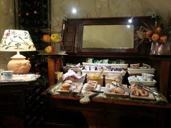 B&B Il Grottino di Assergi : Proposte per la colazione