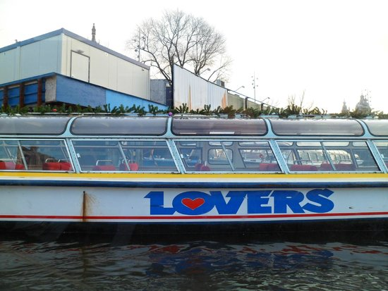 Lovers Canal Cruises : Barco turístico