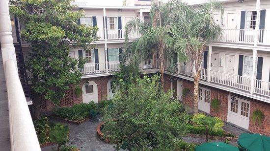 Best Western Plus French Quarter Landmark Hotel: court yard