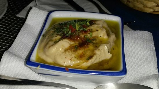 Ca Mezquida: Eggplant Hummus