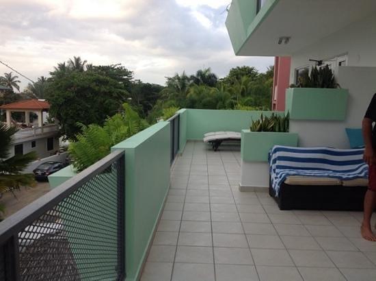 Casa Verde Hotel: balcony
