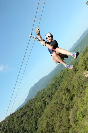 Outdoor Adventure by Vallarta Adventures: Primer Tirolesa que me aviento GRACIAS!!