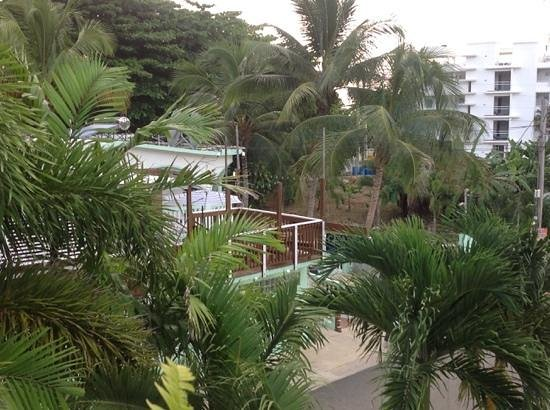 Casa Verde Hotel: view from the balcony - Maria's room