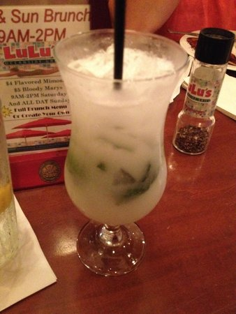 Lulu's Oceanside Grill: Mojito Mondays - each night is a special drink night for $5 drinks