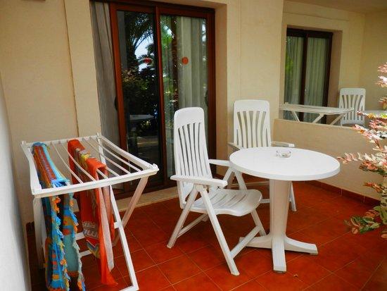 Suite Hotel Atlantis Fuerteventura Resort: terrasse