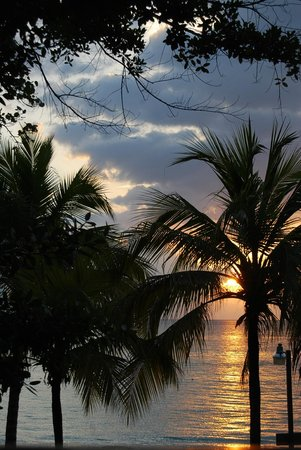 Nirvana on the Beach: Another stunning evening in Negril - view from veranda