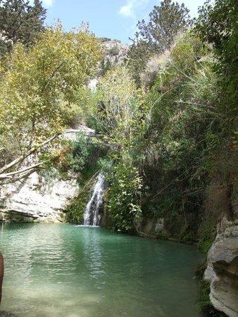 Adonis Baths Water Falls: The Waterfall