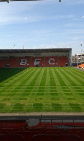 Blackpool FC Hotel: Room with a view!
