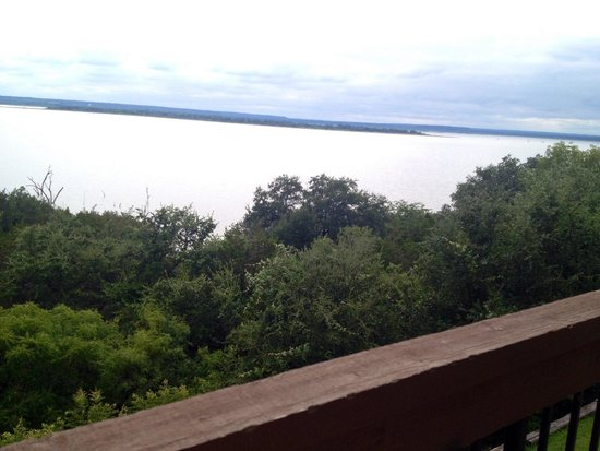 White Bluff Resort: Lake view second floor of in