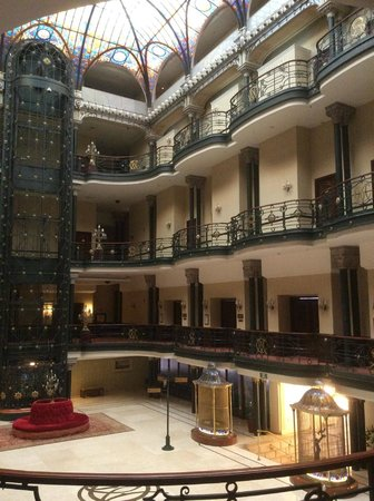 Gran Hotel Ciudad de Mexico: Main hall