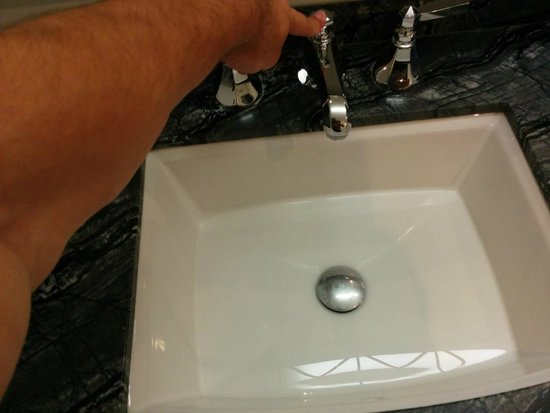 The Adelaide Hotel, Toronto: I had to do this every time I used the sink.