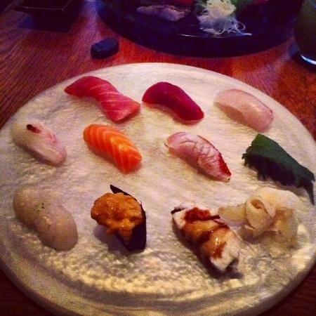 15 East Restaurant: sushi omakse