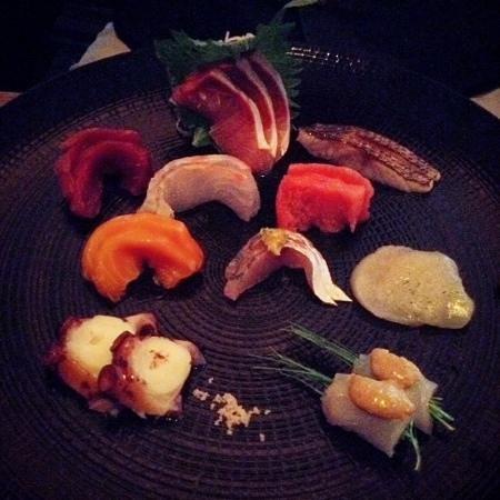 15 East Restaurant: sashimi omakse