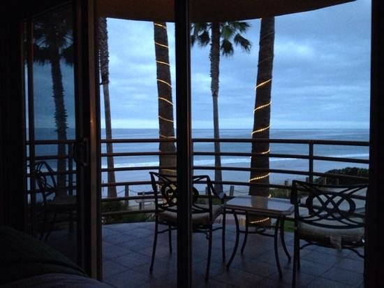 Pacific Terrace Hotel : View of Ocean from the room
