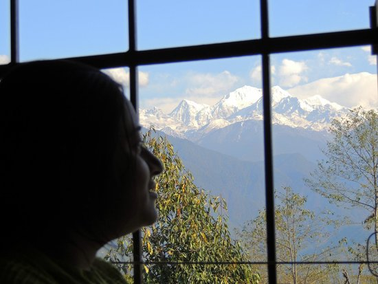 Aurora Sikkim: VIEW FROM OUR WINDOW